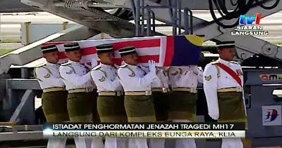 #MH17 Semoga Allah Ampunkan Dosa Arwah