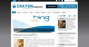 Free Wordpress Theme - Crayon