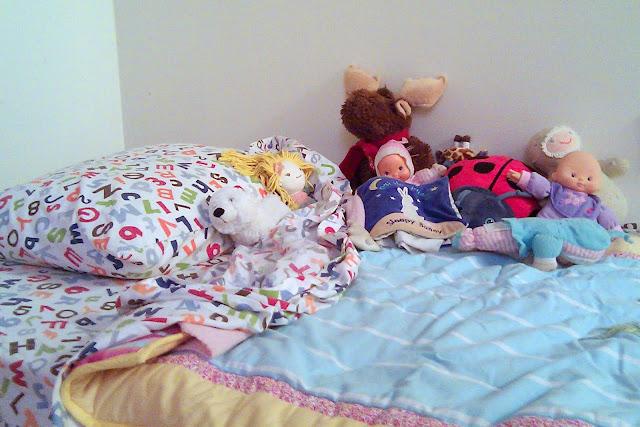 a big girl bed!