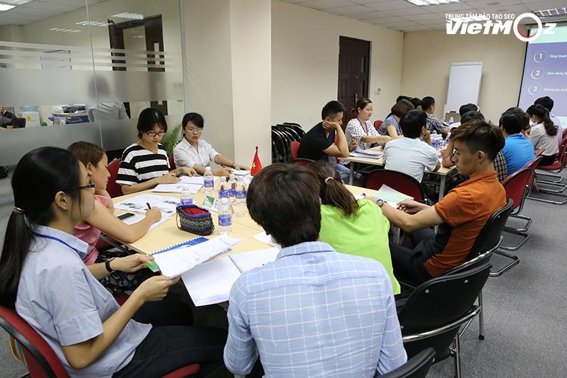 Góc học tập của Team Việt Nam