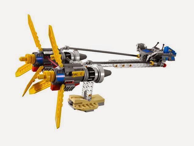 7962 レゴ アナキンとセブルバのポッドレーサー