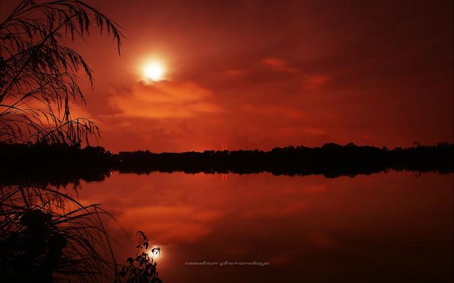 malam romantik pelancongan di teluk pasu