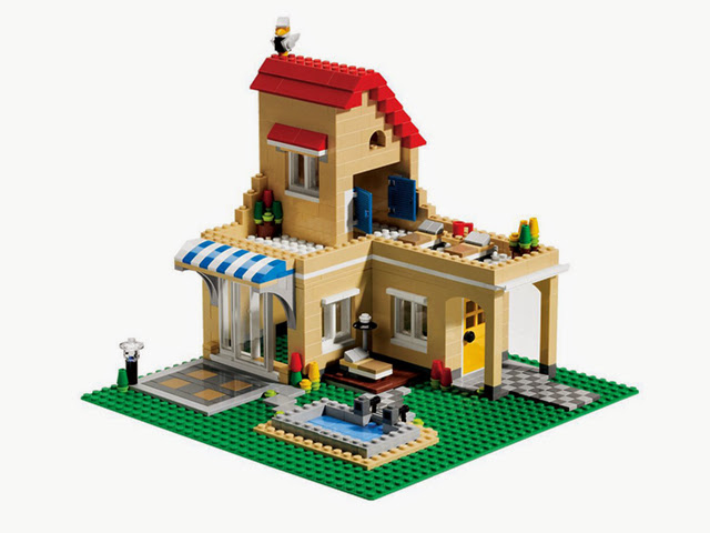 6754 レゴ クリエイター ファミリーホーム
