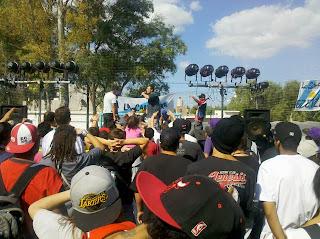 Espectaculo de Hip Hop en Ezeiza