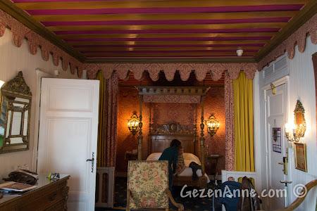 Nice'teki Le Negresco otelinin içinde