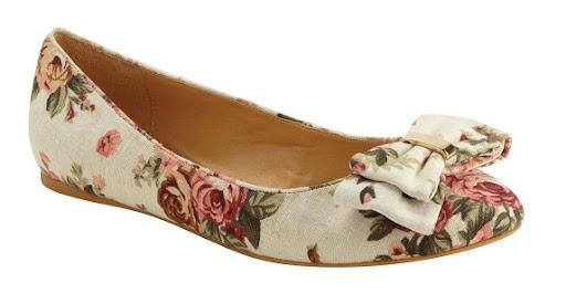 Matalan Floral Print Shoes