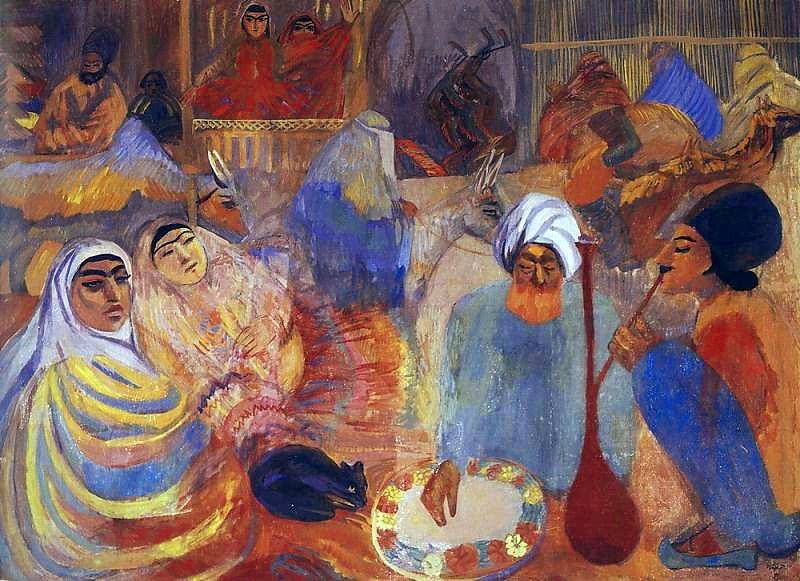 Martiros Saryan - Persia, 1913