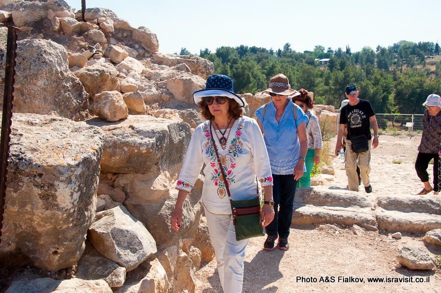Руины Лахиш. Экскурсия гида в Израиле Светланы Фиалковой.