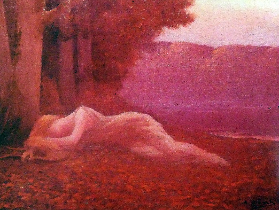 Alphonse Osbert - Nymph endormie
