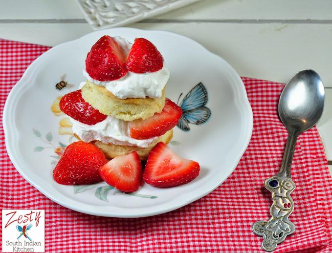 Berry Short Cake