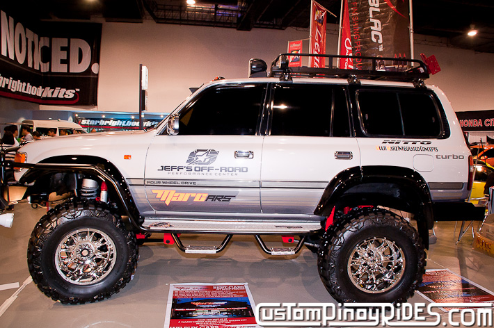 Mark Martinez 1996 Toyota Land Cruiser 80 Jeffs Off Road Shop Manila Auto Salon Custom Pinoy Rides pic4