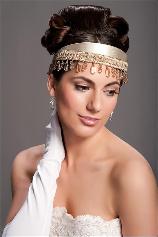Wedding Hairstyle with Headbands
