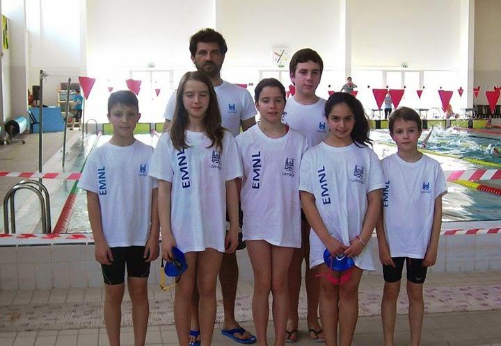 Equipa de Lamego alcança boa prestação no Circuito de Escolas de Natação