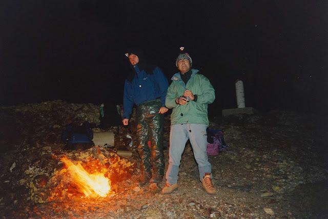 Ascension al Curavacas-nocturna