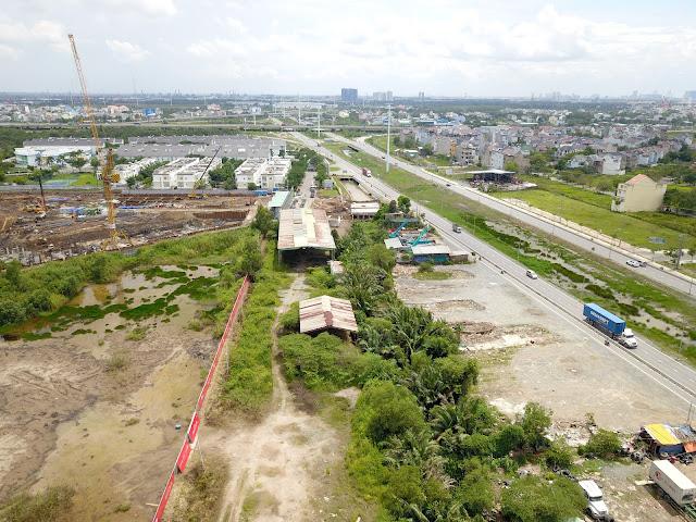 Ngay trung tâm Phú Hữu, nút giao của kinh tế miền Nam