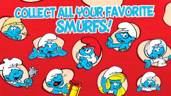 Smurfs' Village v1.5.5.1 for iPhone/iPad