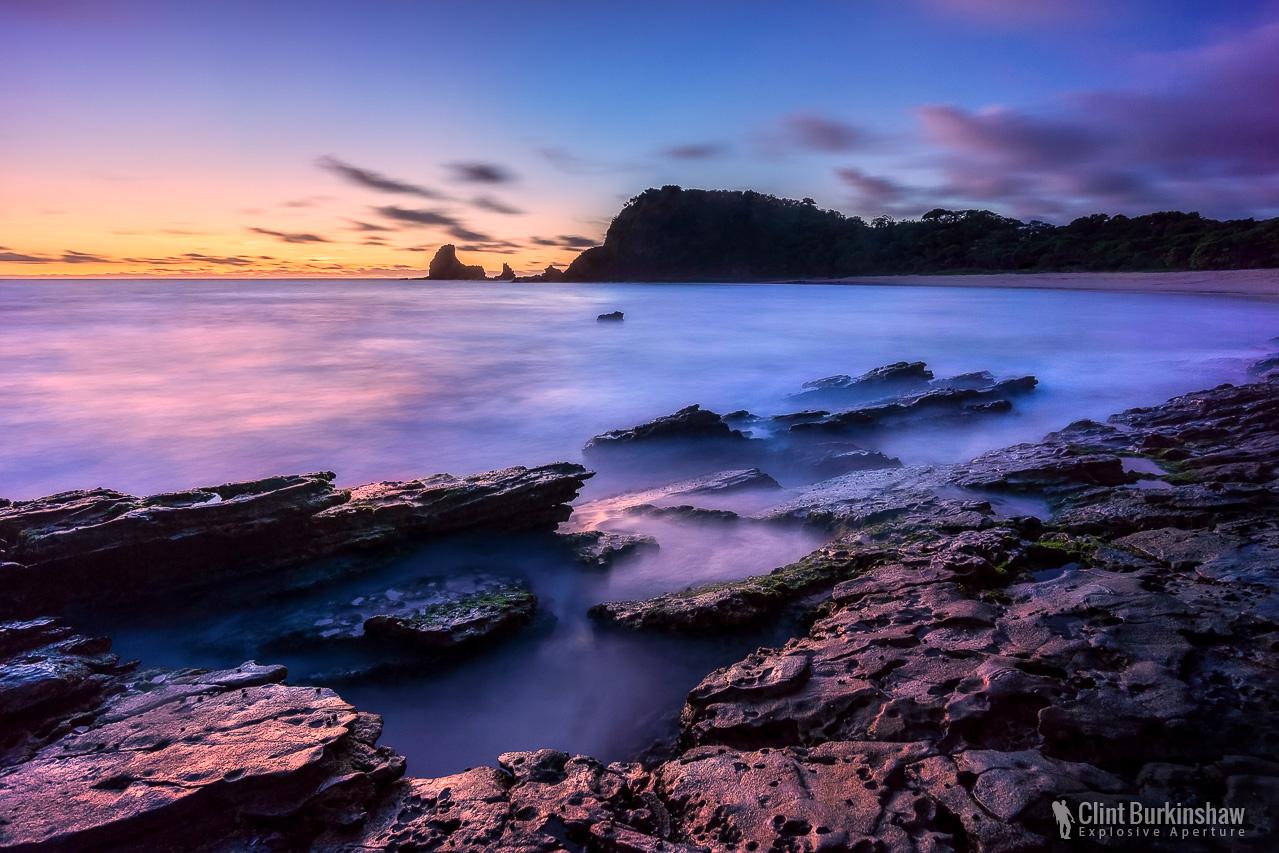 Sunset over Playa Maderas, Nicaragua