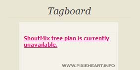 ShoutMix free plan is currently unavailable.