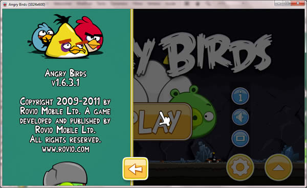 AngryBirds1.6 version