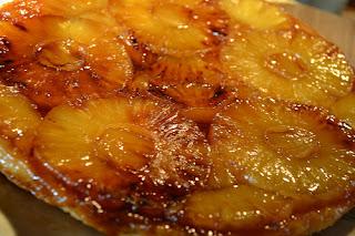 Tatin d'ananas au gingembre 1