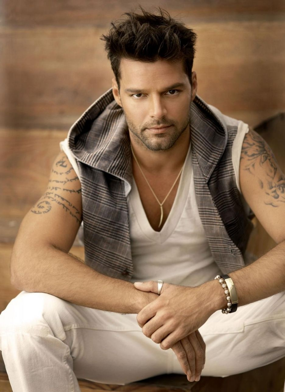 Amusing answer Ricky martin nude penis piece