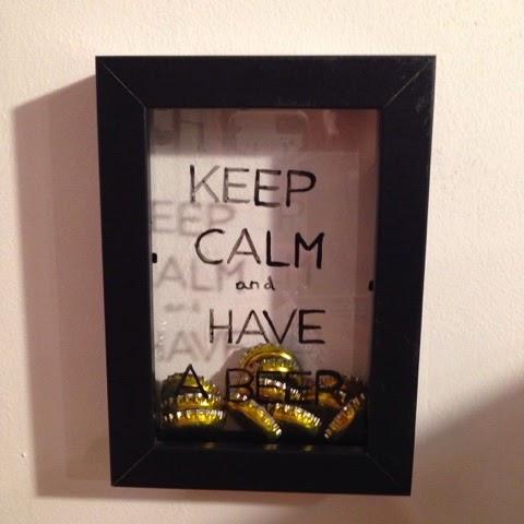 Diy un cadre capsules caract rielle - Cadre photo cuisine ...