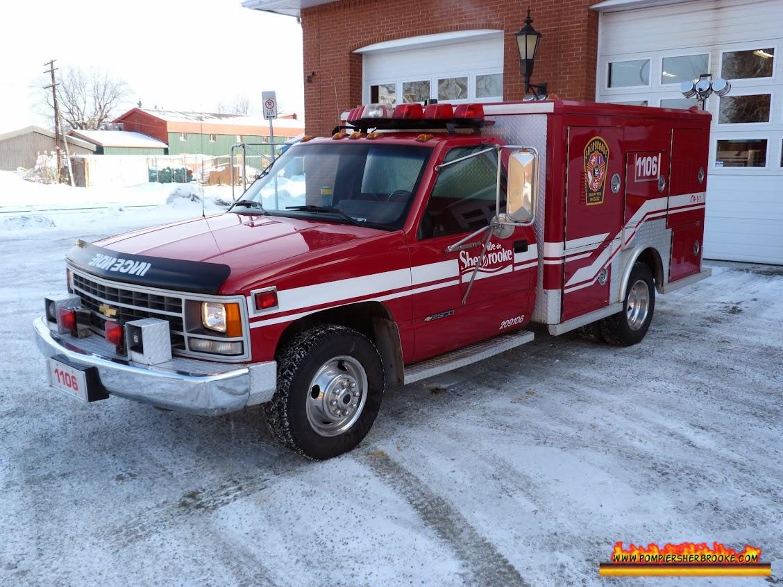 Unité de soutien 1106  / Pompier Sherbrooke
