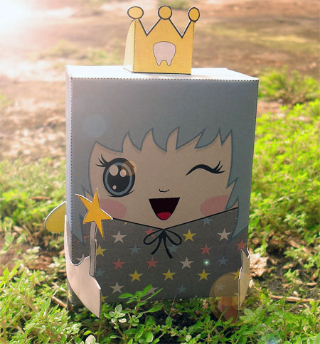 Tooth Fairy Paper Toy