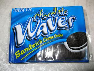 Aldi oreos mercer chocolate waves