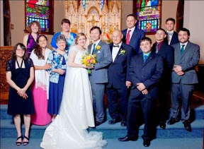 Art Mark's youngest daughter Dr. Teresa Rose Mark, MD wed to Dr. David Mu, MD