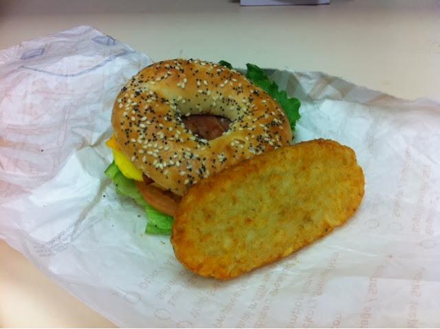 ... Foodie: The New Turkey Sausage Breakfast Sandwich at Tim Horton's