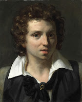 gericault, young man, 1818, face, open, unsure, hariberth