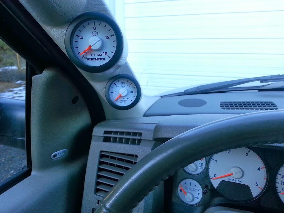 Best factory match gauges? - Page 2 - Dodge Cummins Diesel Forum
