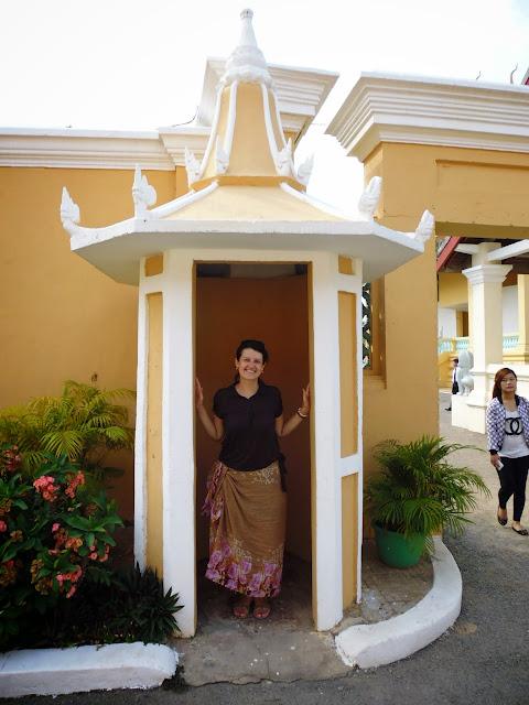 территория дворца. Камбоджа