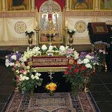 Великий Пяток. Вечерня Великой Субботы с выносом Плащаницы. 21 апреля 2006 г.