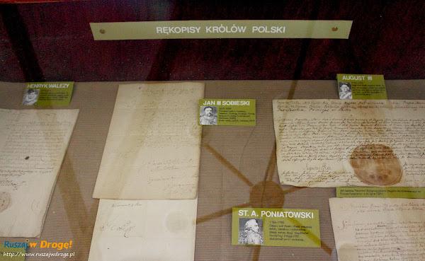 Muzeum Pamięci Walki o Niepodległość Narodu w Wąchocku - rękopisy królów Polski