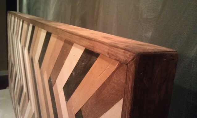 table frame stained