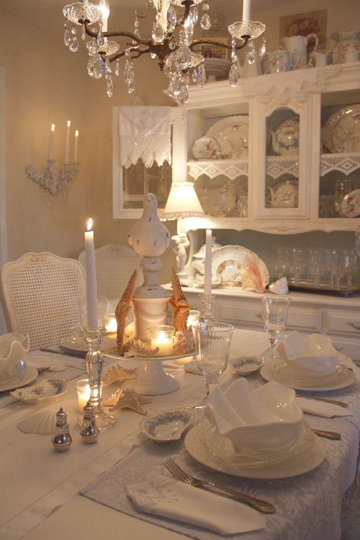 Romantic Dining Room: My Romantic Home: Show And Tell Friday