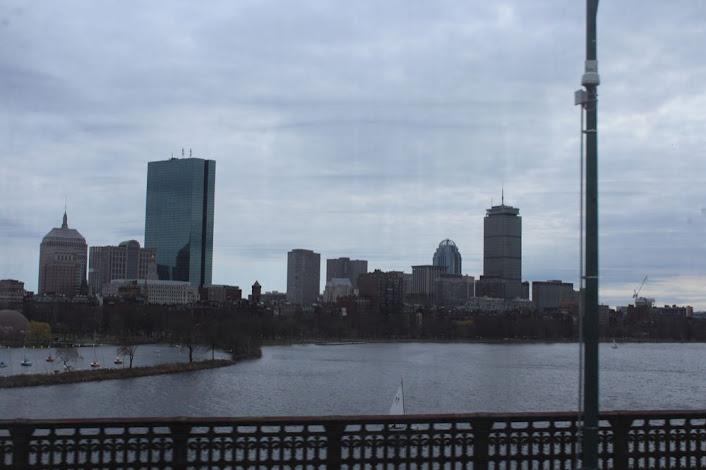 Boston skyline as seen from the Longfellow Bridge