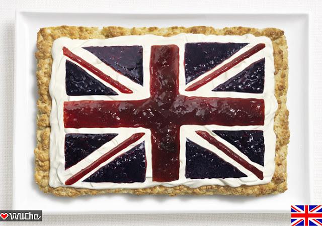 創意食材國旗