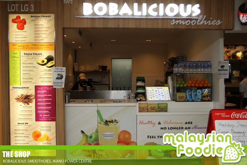BOBALICIOUS SMOOTHIES, IKANO POWER CENTRE