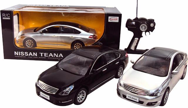 Mô hình xe ô tô Nissan Teana điều khiển từ xa thật bổ ích và lý thú
