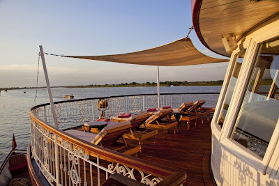 Our pool deck boasts of the largest pool – constructed with intricate Turkish Mosaic floor tiles – on any Mekong cruise. Soak in the rays of the sun whilst lying on comfy sun beds. Then, jump into our splendid Jacuzzi and allow the bubbles to caress you. - See more at http://www.jahancruises.com