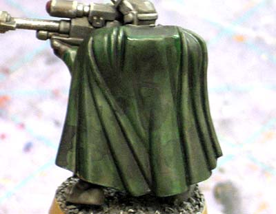 Dark Angel scout with camo cloak
