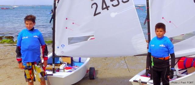 CN Canet Perpignan Optimist championnat de France 2014