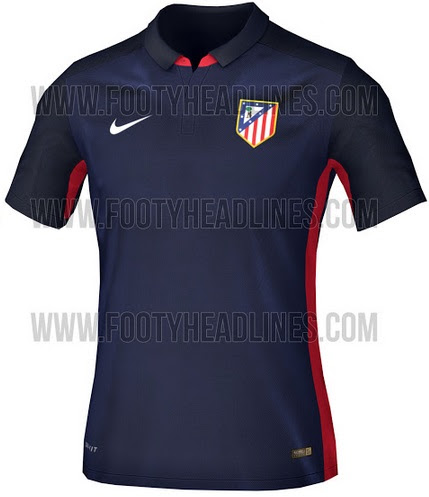b27ac3ea4 New Atletico Madrid 2015-16 Home Away Kits (Released)