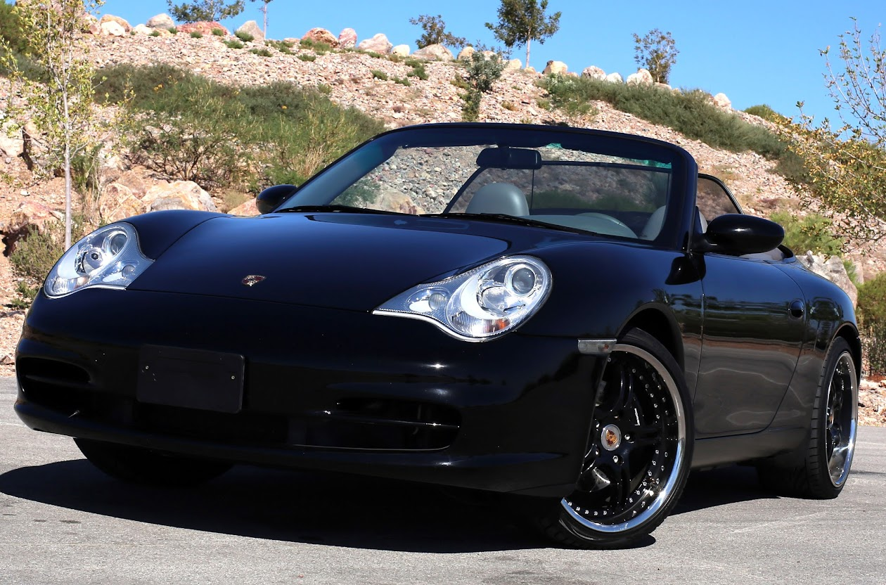 purchase used black beauty 2002 porsche 911 carrera 2 cabriolet 996 2 mint condition service. Black Bedroom Furniture Sets. Home Design Ideas