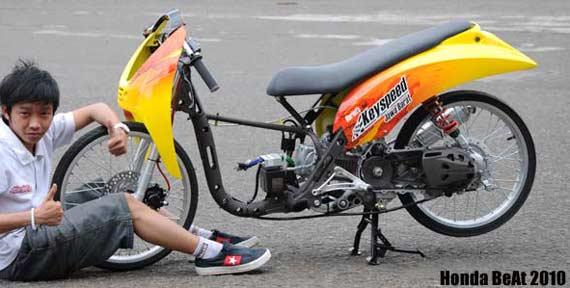150cc Drag Bike Drag Bike Racinghonda Beat