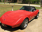 1975 Chevrolet Corvette Convertible w/ Hardtop 113,000 Original Miles 3rd Owner