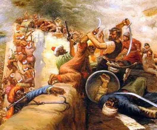 Донские казаки в боях за Азов